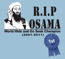 RIP OSAMA by KISSmyBLAKarts
