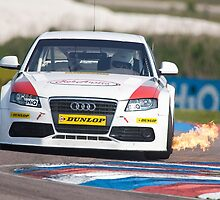 BTCC Rob Austin, Audi A4 by Mark Greenwood