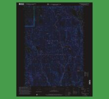 USGS Topo Map Oregon Telephone Butte 281762 1999 24000 Inverted One Piece - Short Sleeve