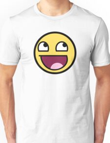 Awesome Smiley Unisex T-Shirt