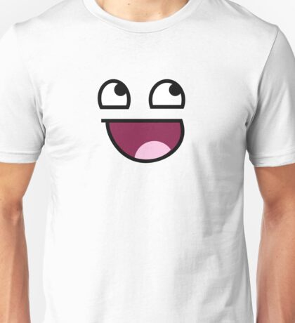 Awesome Smiley Full Unisex T-Shirt