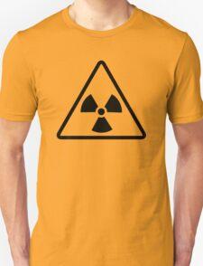 Radioactive - ionizing radiation hazard symbol v2 T-Shirt