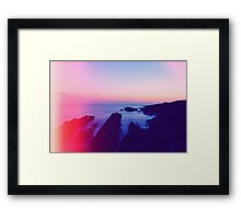Light Leaks - Saunton Framed Print