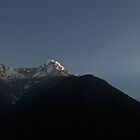 Day Break over the Annapurna Range by John Hatt