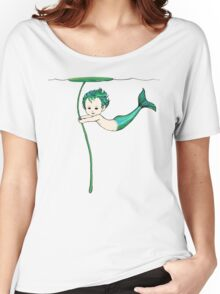 Merbaby Women's Relaxed Fit T-Shirt