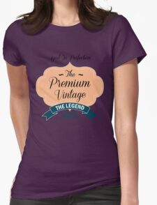 The Premium Vintage 1971 Womens Fitted T-Shirt