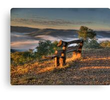 Contemplation Point - Merlin's Lookout, Hill End NSW Australia - The HDR Experience Canvas Print