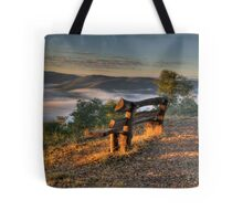 Contemplation Point - Merlin's Lookout, Hill End NSW Australia - The HDR Experience Tote Bag