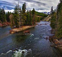 Wenatchee River by Kathy Weaver