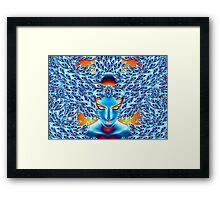 Visionary mind Framed Print