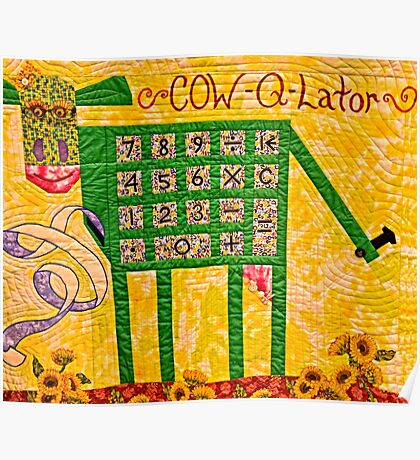 Cow-Q-Lator Poster