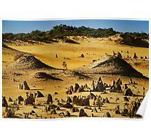 """""""Pyramids In Nambung"""" Poster"""