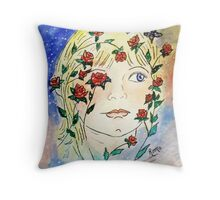 Precious Rose... Throw Pillow