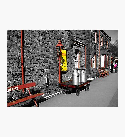 Goathland Station Platform  (SC) Photographic Print