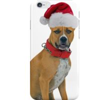 Staffordshire Bull Terrier Christmas iPhone Case/Skin