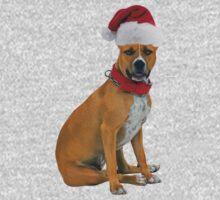 Staffordshire Bull Terrier Christmas One Piece - Short Sleeve