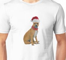 Staffordshire Bull Terrier Christmas Unisex T-Shirt