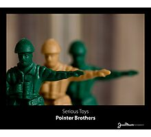 Serious Toys - Pointer Brothers Photographic Print