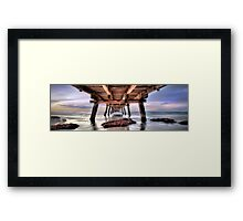 Vanishing Point Panorama Framed Print