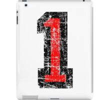 Number 1 One First Birthday 1st Design iPad Case/Skin