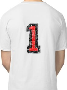 Number 1 One First Birthday 1st Design Classic T-Shirt