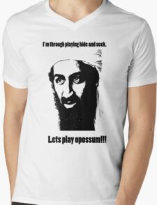 Bin Laden 1 Mens V-Neck T-Shirt