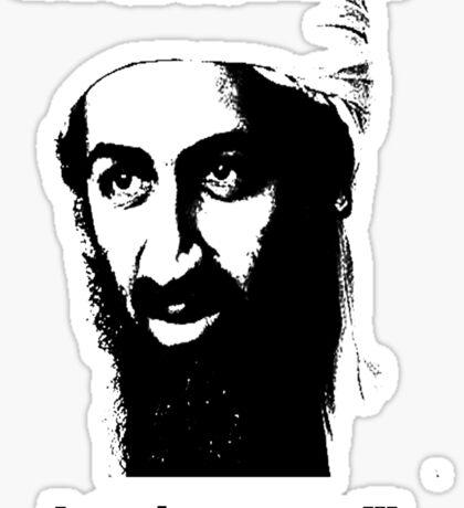 Bin Laden 1 Sticker