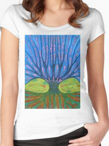 Warm Tree Women's Fitted Scoop T-Shirt
