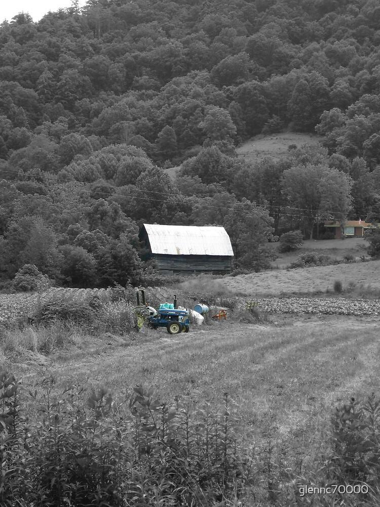 Backwards Colored Farm by glennc70000