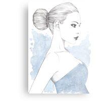 Beautiful Belle Metal Print
