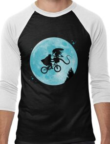 E.T. vs Aliens Men's Baseball ¾ T-Shirt