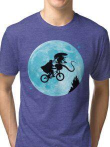 E.T. vs Aliens Tri-blend T-Shirt