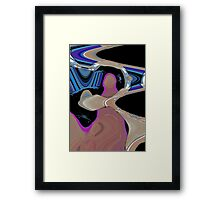 Second Guessing Myself Framed Print