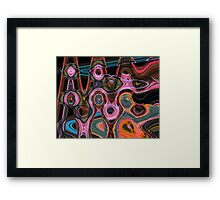 Everyone Tries to Fit In Framed Print