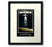 Serious Toys - UFO Framed Print