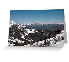 Austria Greeting Card