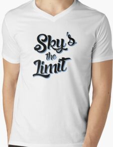 Sky's the Limit Mens V-Neck T-Shirt