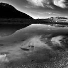 mountain lake by neil harrison