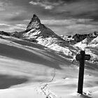 tracks to Matterhorn by neil harrison