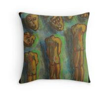 """Unmasked"" Throw Pillow"