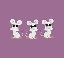 Three blind mice by jazzydevil