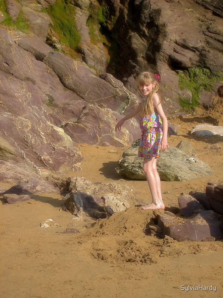 Day on a beach by SylviaHardy