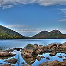 Jordan Pond by J. Day