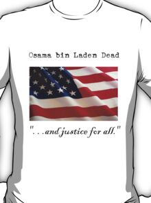 . . .and justice for all. T-Shirt