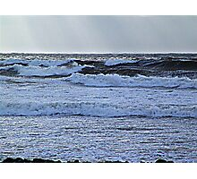 Lawrencetown Beach, Stormy Day Photographic Print