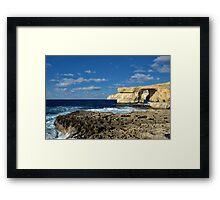 Id-Dwejra Framed Print