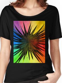 """Rainbow Splat"" Clothing Women's Relaxed Fit T-Shirt"