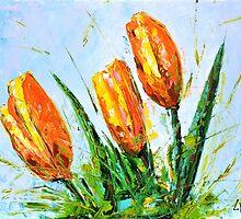 Yellow Tulips by Ranisha