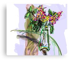 Vase Placed Well by Beth Canvas Print