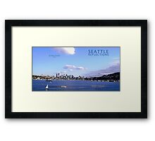 Seattle Reflections Framed Print